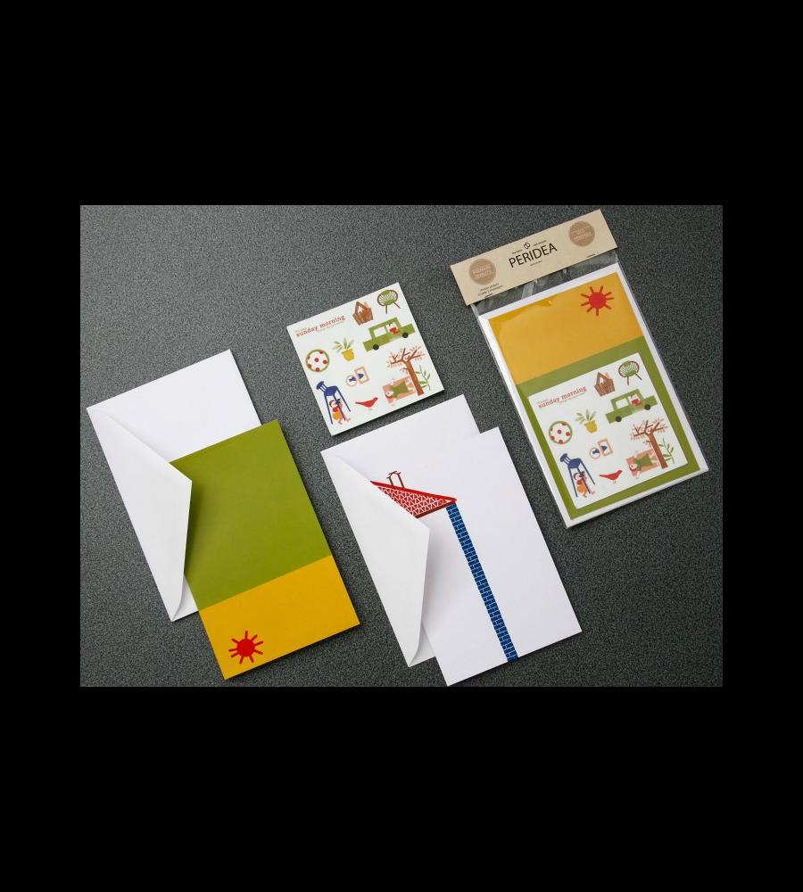 Sunday morning greeting cards peridea m4hsunfo